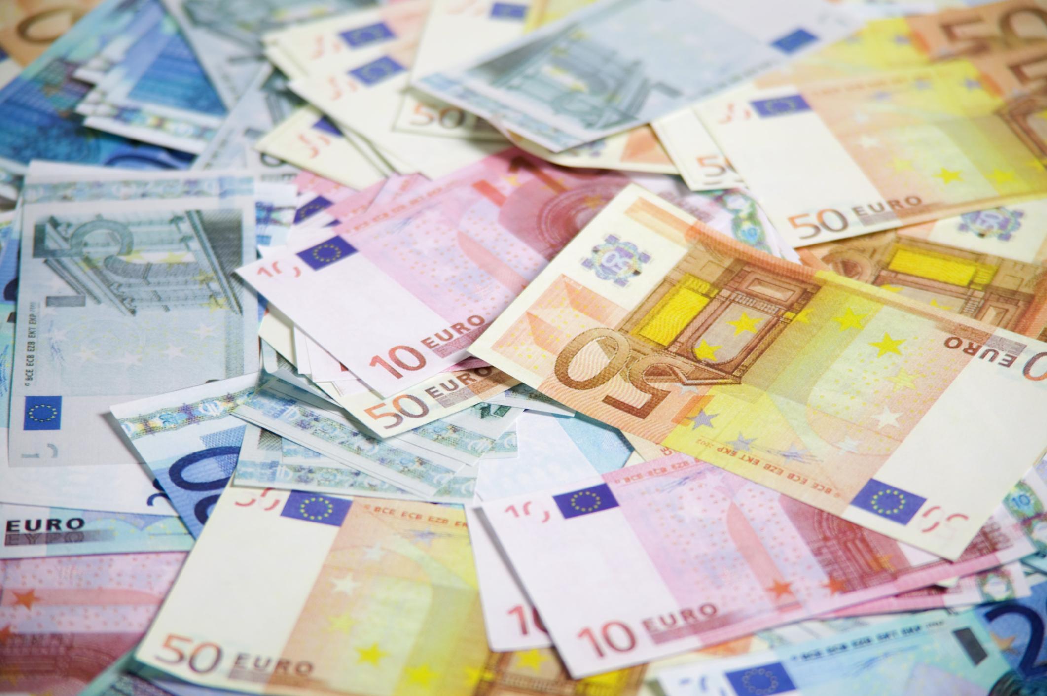 euro esenzione denaro