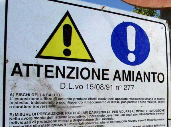 Amianto – Necessari altri 85 anni per smaltire tutti i rifiuti in Italia