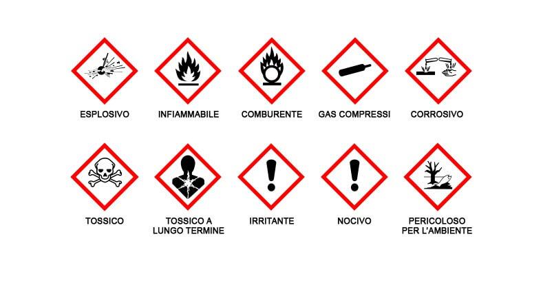 Nuovo Regolamento Classificazione Etichettatura ed Imballaggio di Sostanze e Miscele