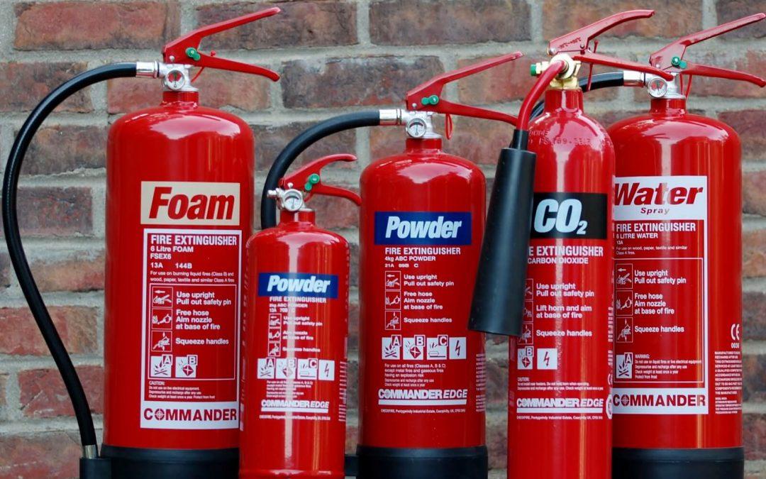 Fissata la dotazione minima antincendio per gli addetti
