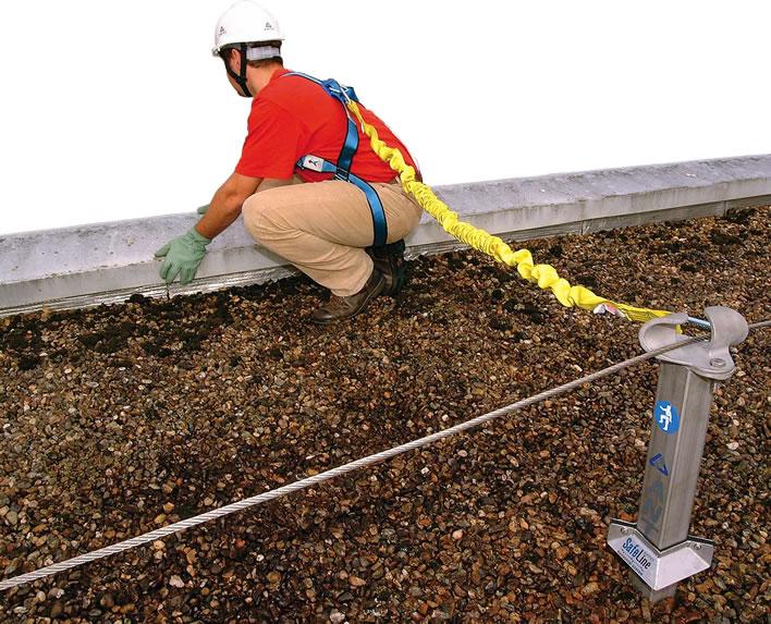 Dispositivi di protezione collettiva nei lavori in copertura