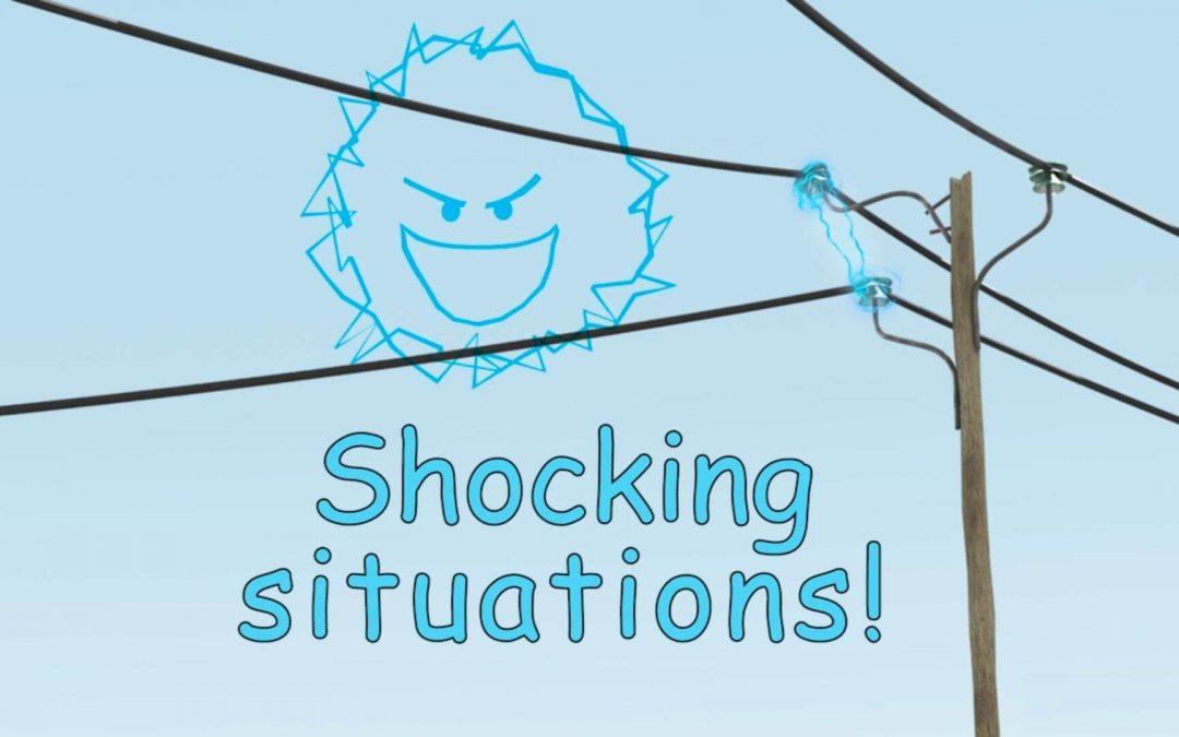 Napo in Situazioni da shock, nuovo episodio sul rischio elettrico