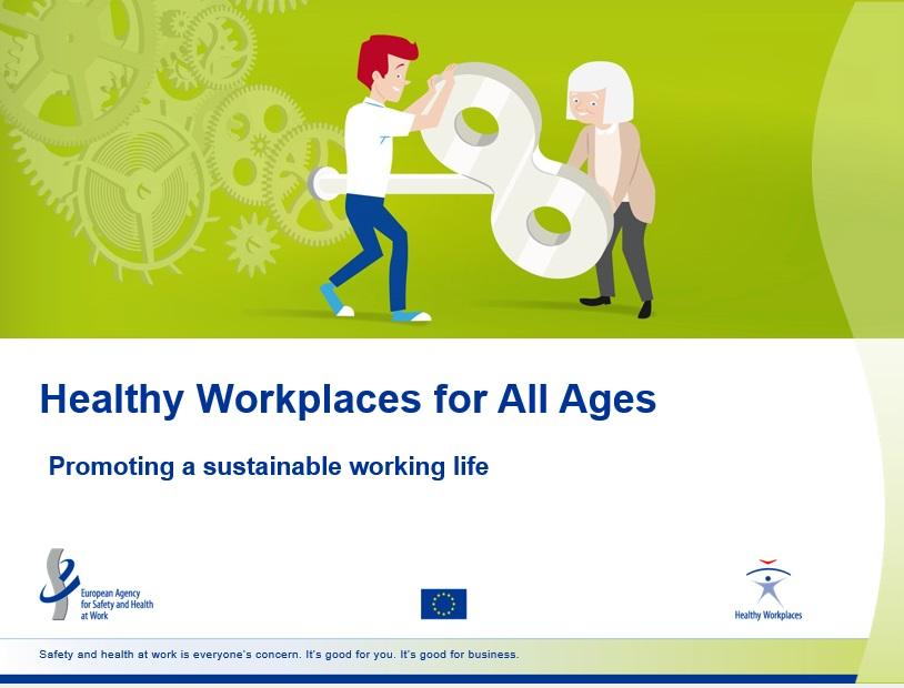 Eu-Osha: Ambienti di lavoro sani e sicuri a ogni età – Ecco il tema 2016-2017