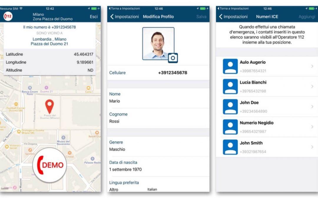 Nasce Where Are U, l'app ufficiale del 112