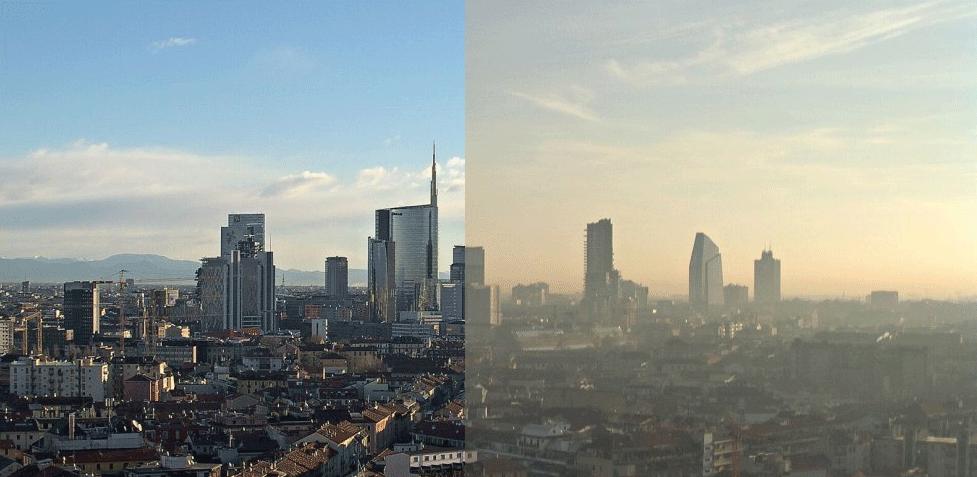 Smog: cos'è, come si forma e cosa comporta