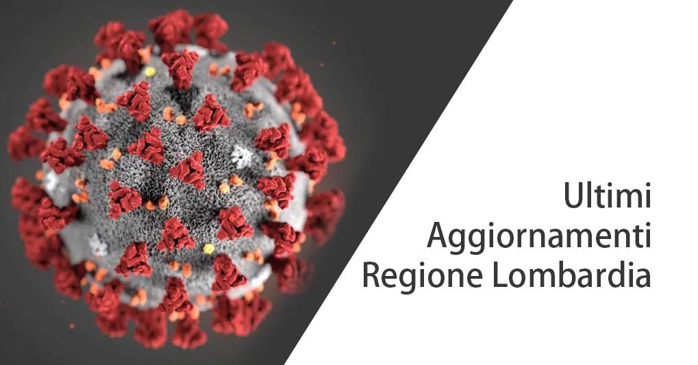 COVID-19: ordinanza 547 della Regione Lombardia