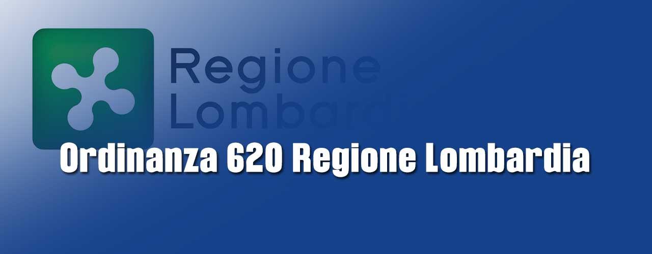 COVID-19: ordinanza 620 Regione Lombardia