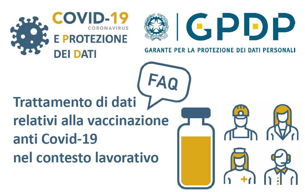 COVID-19, vaccino e privacy: cosa è possibile richiedere al lavoratore?